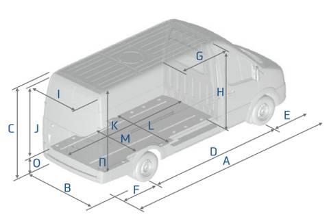 Hyundai H350 - Längen